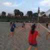 Žákyně ladily formu na plážáku